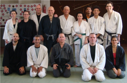 Martial arts lesson (Judo,Nin), June 2011