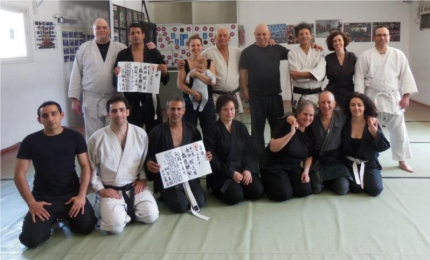 At the end of practice (Judo,Nin), May 2013