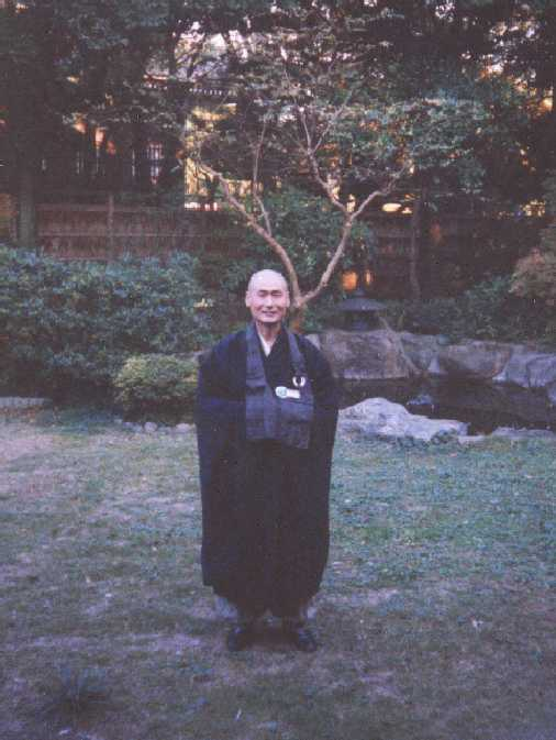 Rev. Saikawa Roshi at Sojiji